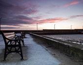 Loughshinny Harbour , Landscape, Sunrise, Wall Art, Ireland, Home Decor, Fine Art Photography Image