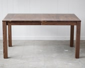 Parsons Dining Table - Solid Walnut Extension Table - Seats 10 - Available in other woods