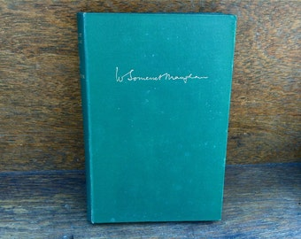 Vintage English W. Somerset Maugham Ashenden book 1936 / English Shop