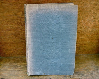 Vintage English The Miracle of the Human Body Harry Roberts book blue Binding / English Shop