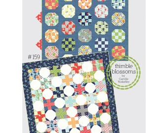 Double Take Quilt Pattern designed by Camille Roskelly of Thimble Blossoms