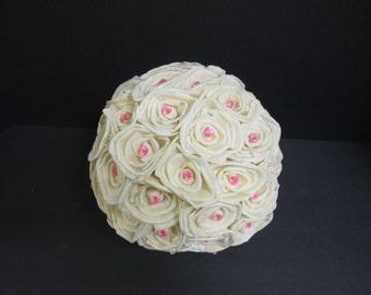 Sola flower ball decoration - LARGE