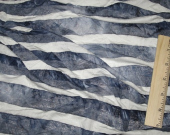 Gradation Tie Dye Stripe KNit Fabric