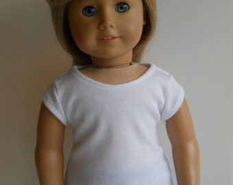 T-shirt for American Girl or other 18 inch dolls