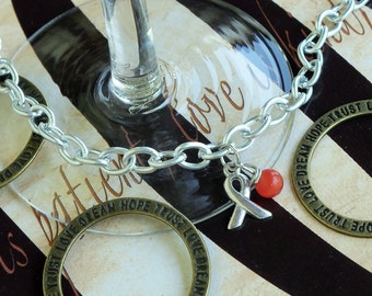 Leukemia, Psoriasis, MS Awareness Bracelet