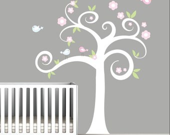 Vinyl Wall Decal-Sticker Decals Tree Wall Decals