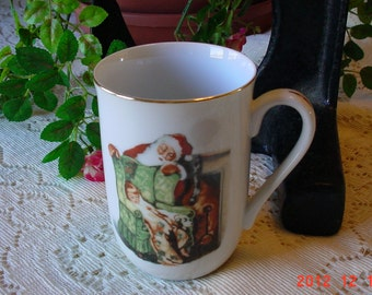 1985 Norman Rockwell Authentic Museum Mug