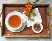 Organic Rooibos Chai Tea • Herbal Chai with Cinnamon, Ginger, Cardamom, Pepper • Caffeine Free Loose Leaf Blend