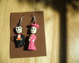 Porfirio & Catrina  earrings