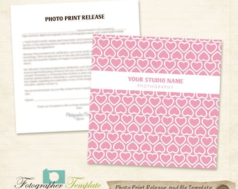 free photography print release form template - valentines day photo print release form template cd dvd