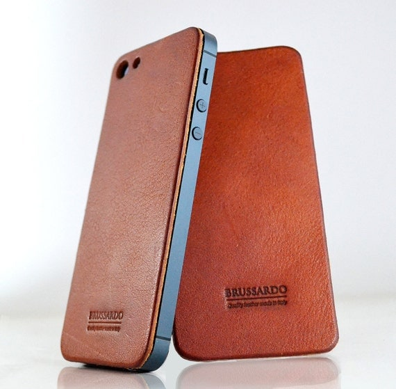 iPhone 5 / 5s leather back protector