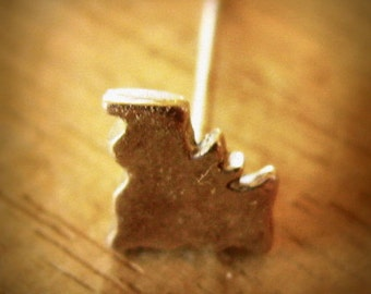 One Tiny Silver Bat Stud Earring in Sterling Silver Halloween Jewelry Bat Earring Jewelry Eco Friendly