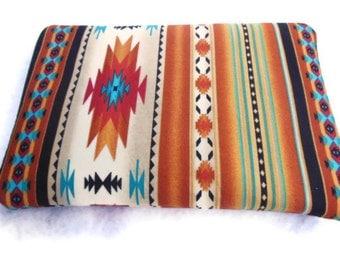 Ipad mini/Kindle Fire/Nook Color/ Tablet PC Sleeve Case Cover Tucson Southwestern Fabric