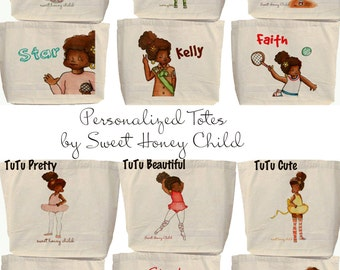 Sweet Totes - Personalized girly gear