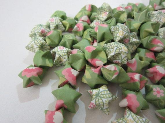 100 Rapunsel's Garden Origami Stars