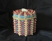 Native American Black Ash Basket