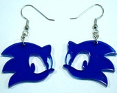 Sonic Inspired Acrylic Earrings
