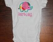 Spring Elephant Bodysuit Creeper