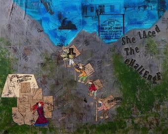 """Chilkoot Trail Glicee Print 8"""" x 10"""""""