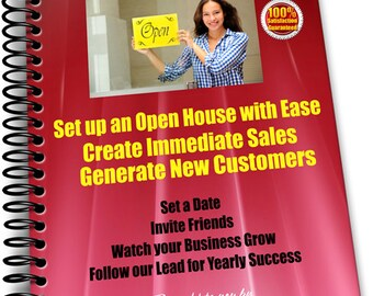 e-book How to Set up a Business Open House with Successful Results Sell Sell Sell