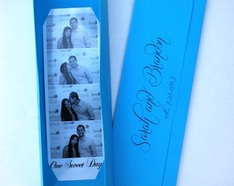 Photo booth Photo-Strip Picture Holders Party Favor Spring or Summer Wedding