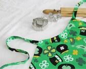 St. Patrick's Day Child Apron