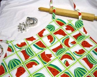 Watermelon Adult Apron