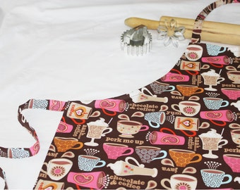 Coffee and Chocolates Adult Apron