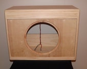 1x12 Pine Cabinet - Cab - Open Back - Empty - Unfinished - Unloaded - New