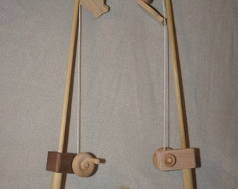 Organic Wooden Toy Fishing Pole