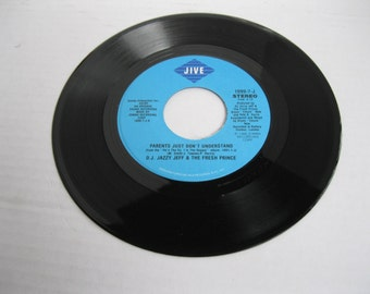 Vintage Parents Just Don't Understand by D.J. Jazzy Jeff & the Fresh Prince 45RPM Super Condition