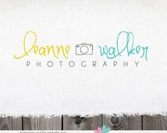 logo design  - camera logos photography logo premade logo photographer logo premade logo design camera logo photography watermark hand drawn