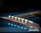 Guitar Reflections - Fine Art Print - BehindthePicture