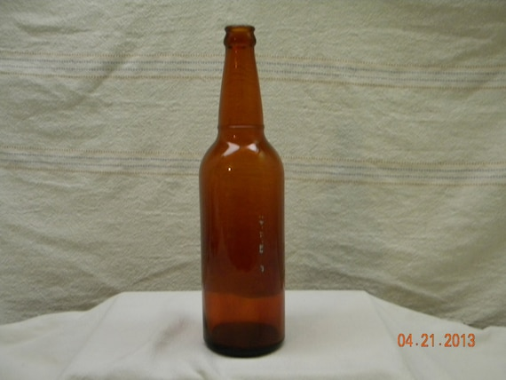 Amber glass bottle beer bottle brown bottles by heyjunkman on etsy