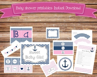 baby shower clothes pin game printable by sweetteapaper on etsy