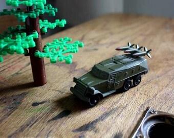 Katyusha. Vintage Soviet Toy. Rocket Launcher/ Truck. Diecast Military Collectable War Toy.