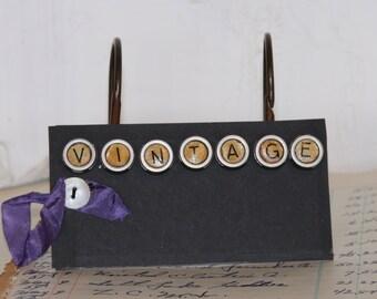 FAUX Typewriter Key Magnets...VINTAGE...