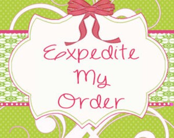 PRIORITY - Expedited Shipping and Service