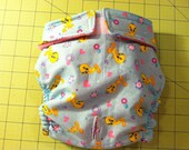 All Sizes- 100's of fabric to choose-- Female dog or cat diaper for training, pms, or Incontinence. XXS XS S M L XL