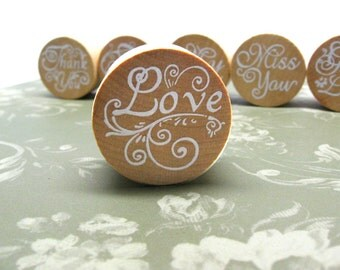 LOVE Rubber Stamp, Love Stamp