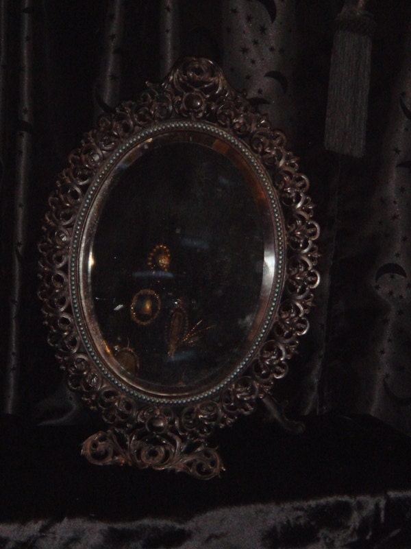Victorian Gothic Wicked Queen Snow White Mirror C Late