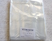 100  clear 6x14 poly Bags ...open top