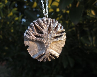 Ancient Tree Silver Pendant