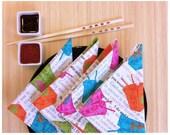Napkins, Set of 4, Table Linens, Perfect Gift Idea, Wedding Gift, Hostess Gift, Housewarming Gift, Asian Table Decor, Eco Friendly