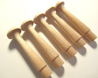 WOOD | 5 Wood Pegs
