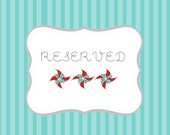 Reserved for TANYA