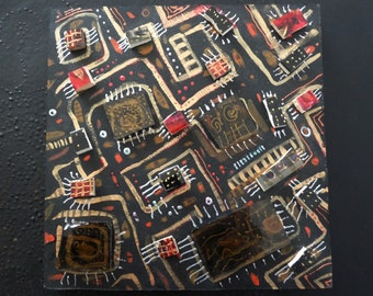 "Mosaic ""Circuit Board"""