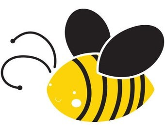 Bee Stencil for Painting Bees on Wall for Baby Kids Room (SKU100-istencil)