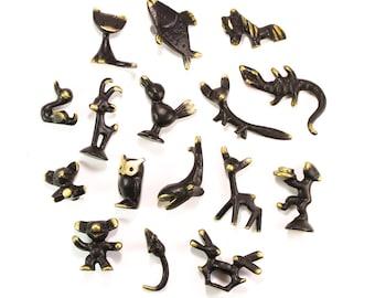 MYSTERY BOX Grab Bag - Walter Bosse Brass Animal Figurines