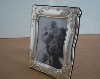 Handmade Sterling Silver Photo Picture Frame 1030 9x13 GB new